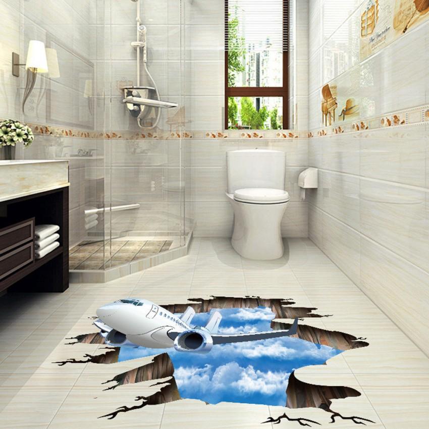 3д полы в ванной - 150 фото, стоимость, подробная инструкция по применению и советы как подобрать дизайн наливного пола