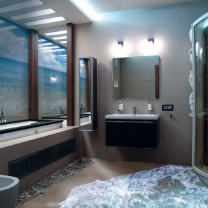 3д полы в ванной — 150 фото, стоимость, подробная инструкция по применению и советы как подобрать дизайн наливного пола