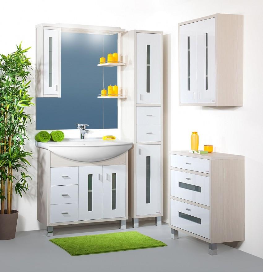 Белая мебель для ванной: рекомендации как выбрать мебель, советы по установке и подбору аксессуаров