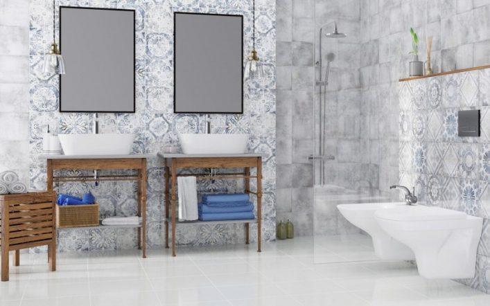 Белый пол в ванной — основные правила применения белого цвета в ванной. Советы по выбору освещения и акцентов в ванной комнате (75 фото)