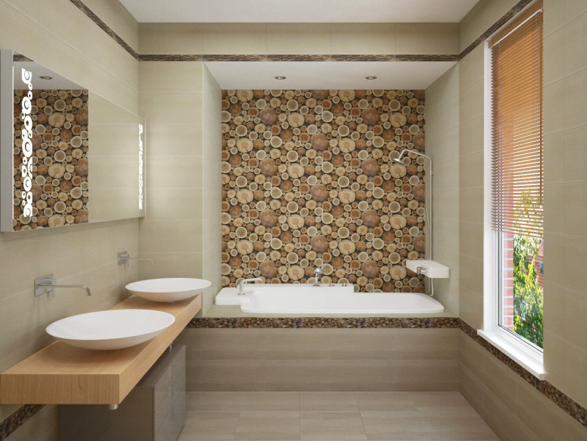 Бежевая ванная: идеи дизайна и варианты декора. Стильные сочетания, красивые идеи и правила оформления (90 фото)