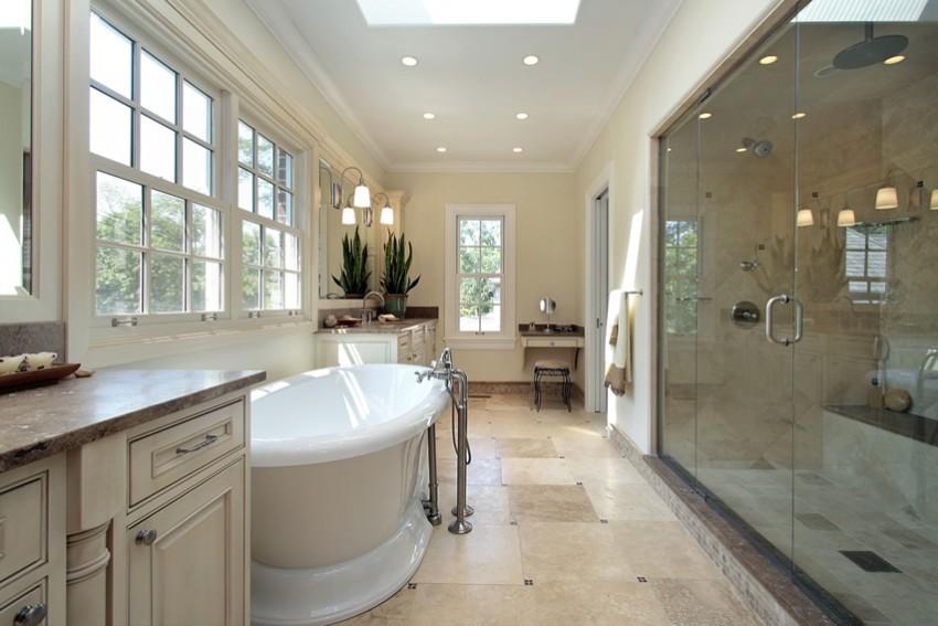 Большая ванная - лучшие идеи дизайна и украшения больших пространств. Советы и рекомендации экспертов по оформлению