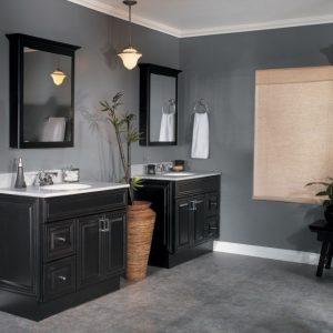 Черная мебель для ванной — лучшие аксессуары, советы по подбору сантехники и варианты оформления стильного дизайна (150 фото)