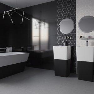 Черная ванная — оптимальные сочетания в интерьере и правила использования черного цвета в дизайне ванной комнаты (105 фото)