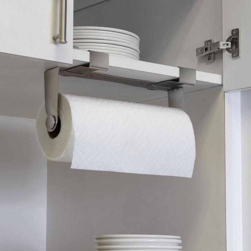 Держатель для бумажных полотенец: настенные модели, особенности выбора и 120 фото примеров стильных аксессуаров