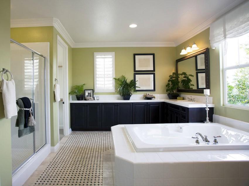 Дизайн ванной: разнообразные идеи оформления, подбор лучших вариантов и советы по их реализации (145 фото)