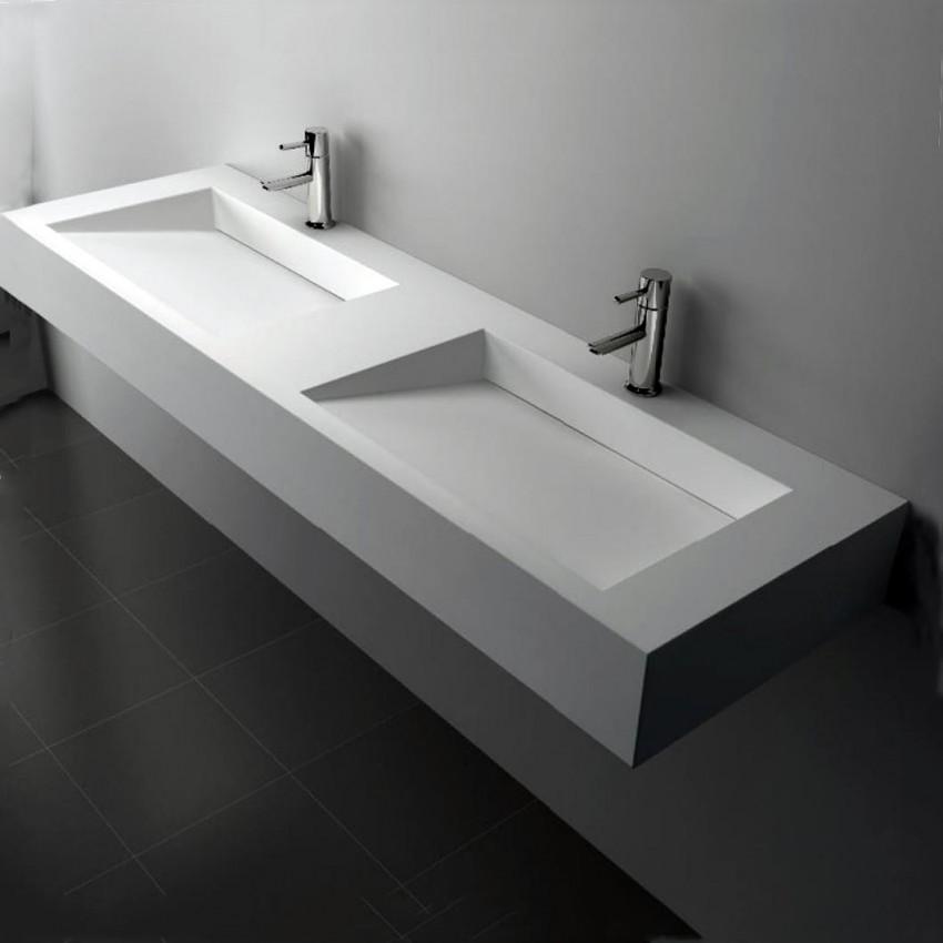 Двойная раковина: особенности монтажа и рекомендации по подбору дизайна (85 фото)
