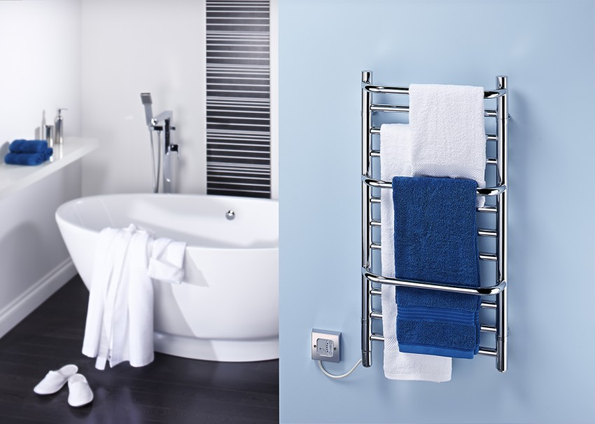 Электрический полотенцесушитель: как правильно выбрать электросушилку, особенности подключения и применения (110 фото и видео)