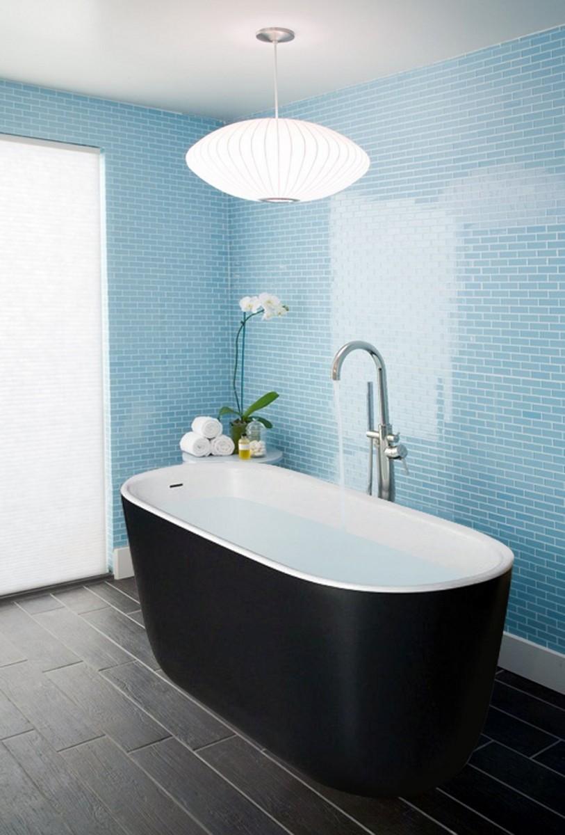 Голубая ванная: 120 фото стильных решений и особенности сочетаний интерьера голубого цвета