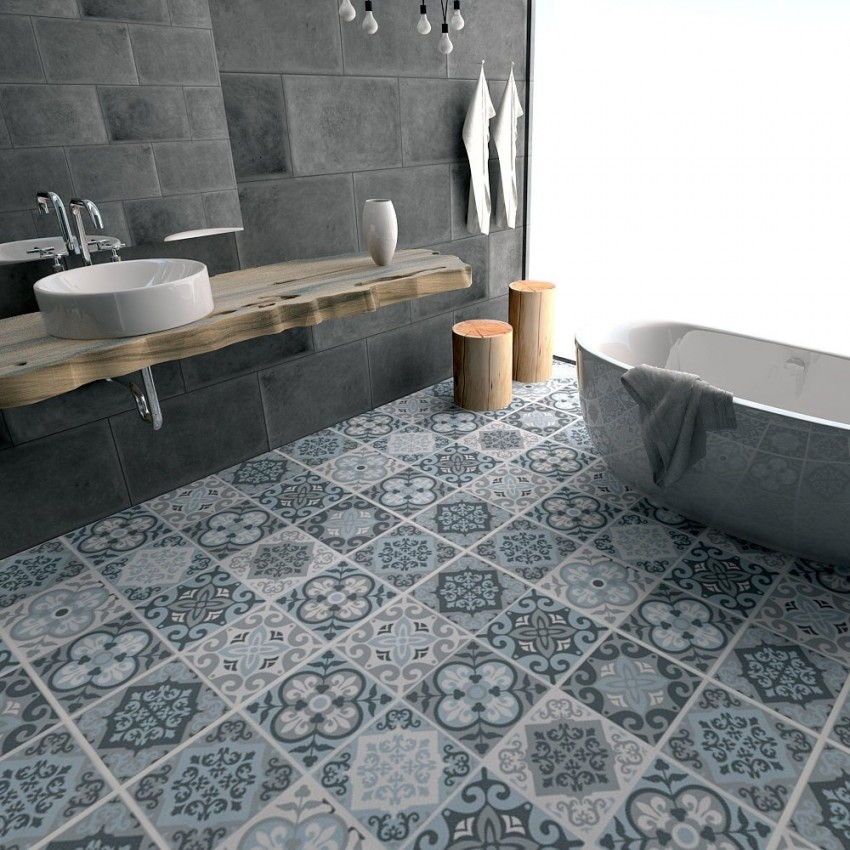 Кафельная плитка для ванной - 140 фото идей современного дизайна, обзор моделей лучших производителей и особенности укладки плитки