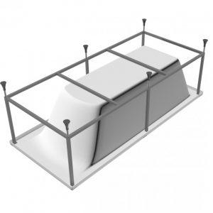 Каркас для ванной — руководство по изготовлению, оптимальные проекты и подготовка под нестандартные модели ванн (105 фото)