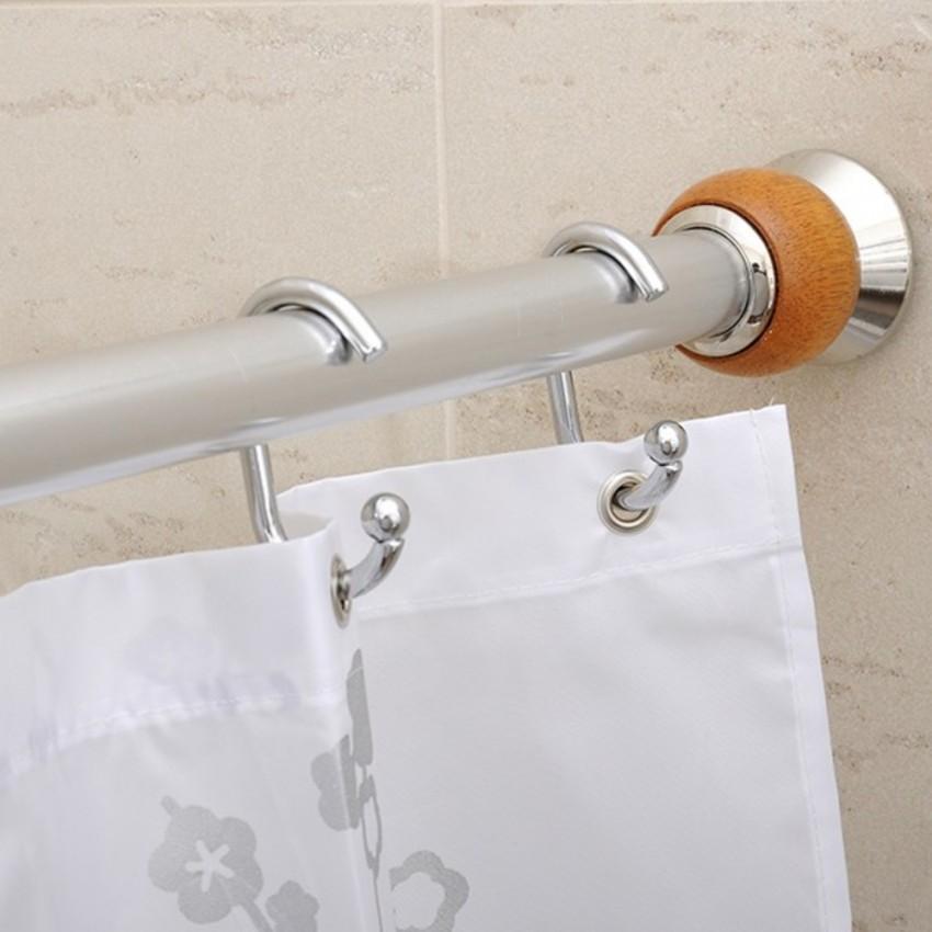 Карниз для ванной - 115 фото основных видов конструкций, идеи оформления и советы по креплению