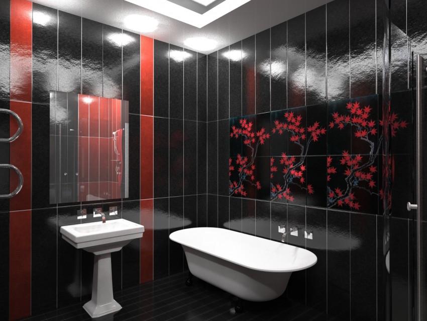 Красивая ванная - описание и лучшие идеи современных интерьеров. Советы как оформить ванную комнату правильно (95 фото)