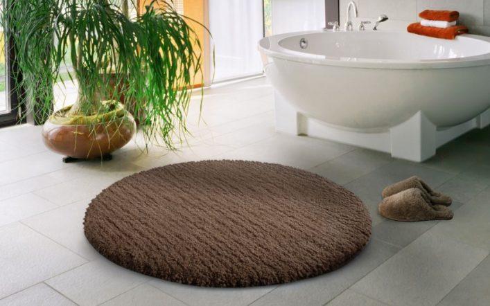 Круглая ванная — советы по выбору дизайна, плюсы, минусы и особенности оформления (105 фото)