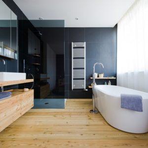Ламинат для ванной — правила укладки, особенности идей красивого оформления и применения (95 фото)