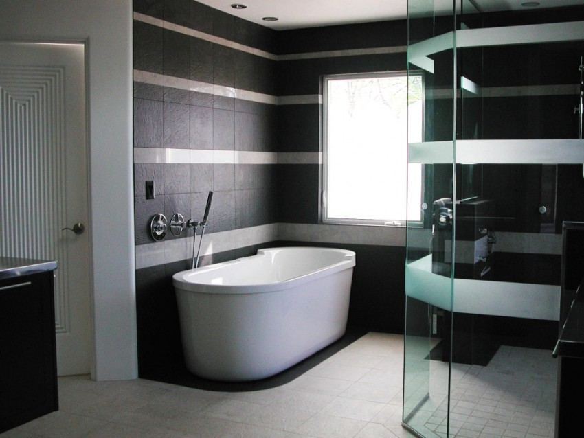 Модная ванная - лучшие решения современного дизайна и самые интересные новинки в оформлении ванных комнат (145 фото)