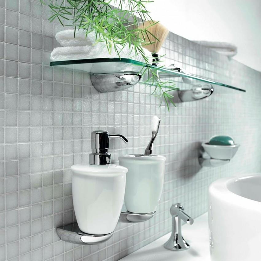Набор для ванной комнаты: как правильно, быстро и просто подобрать и расставить основные аксессуары (125 фото и видео)