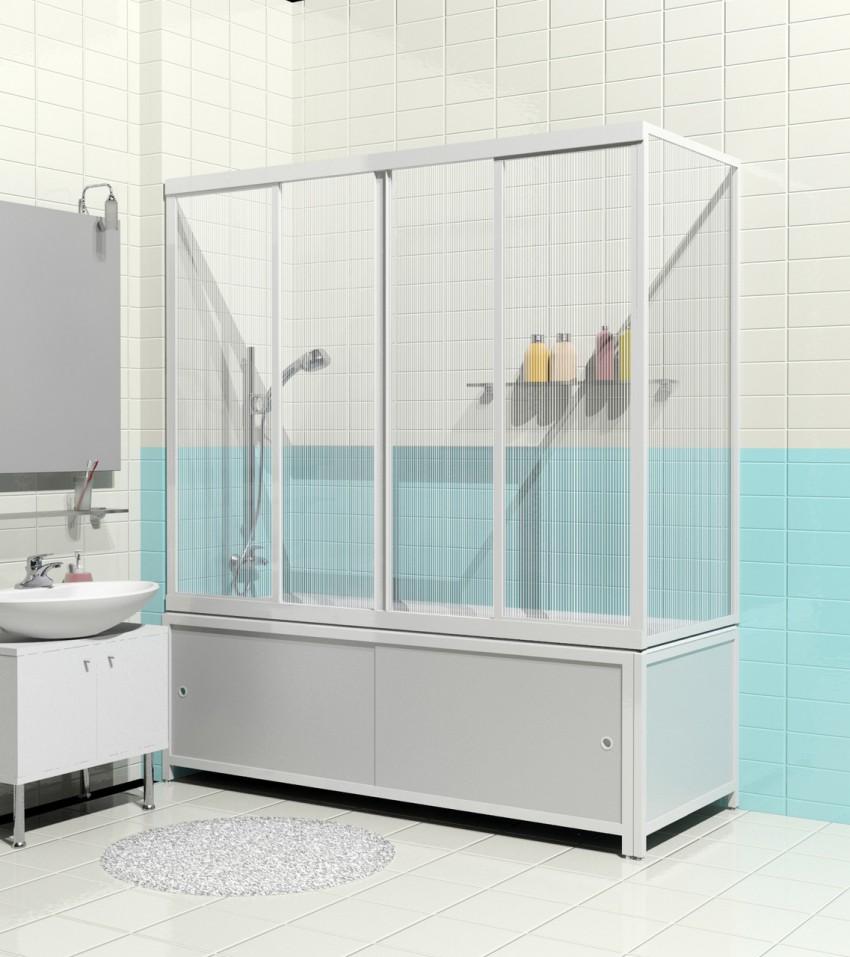 Перегородка для ванной: выбор материала, способы установки, особенности оформления и варианты зонирования (115 фото)