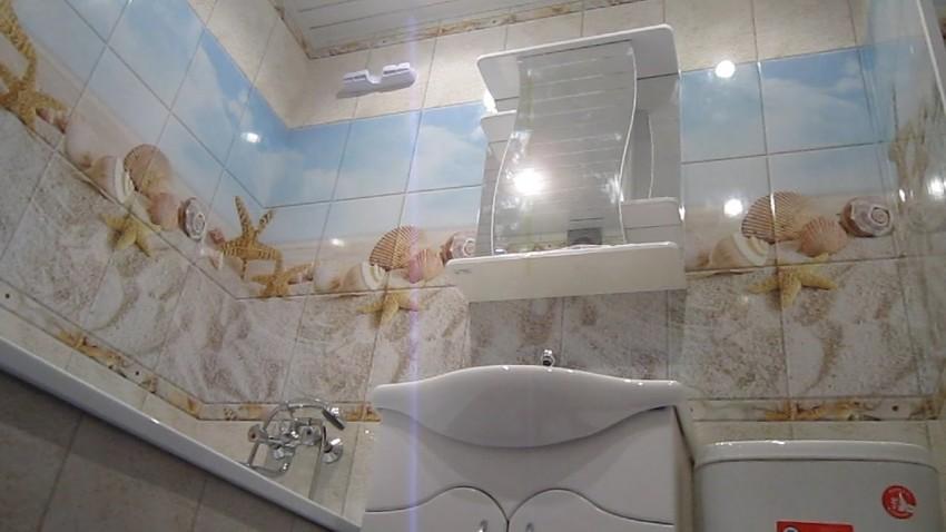 Пластиковая отделка ванной - лучшие идеи современной отделки и рекомендации по выбору варианта крепления