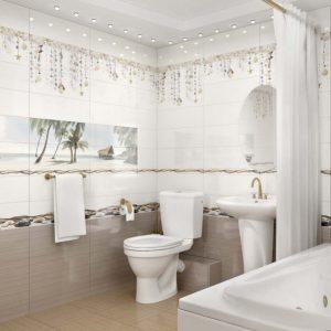 Как купить плитку для ванной: особенности правильного выбора, фото, новинки