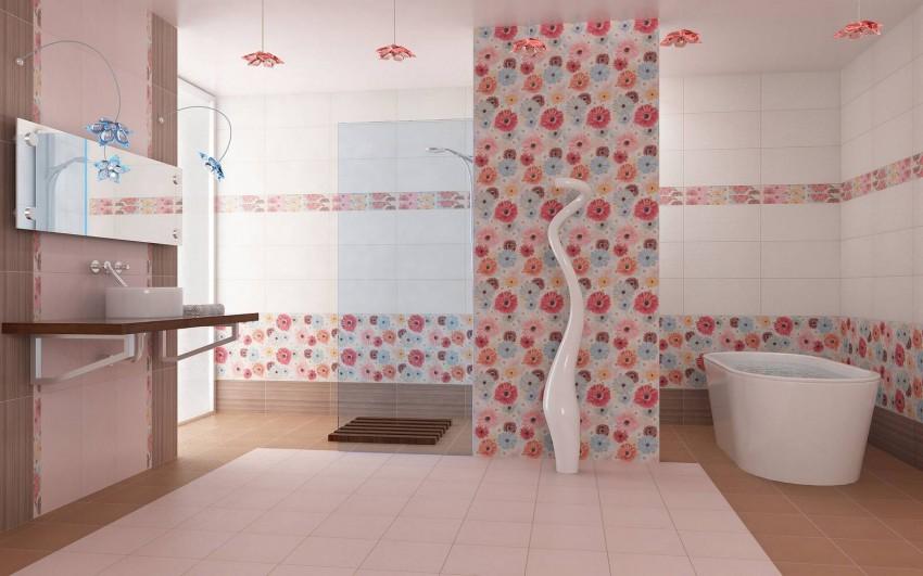 Плитка для ванной в Леруа Мерлен: керамические варианты, особенности применения и советы по оформлению ванной комнаты