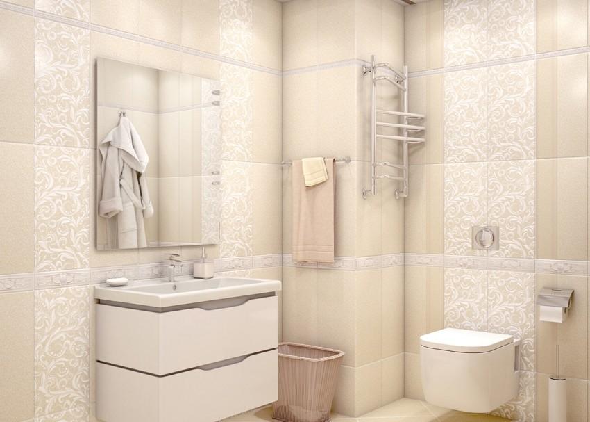 Плитка в ванную на стены - основные виды и правила выбора. Советы по укладке и созданию красивого оформления (95 фото)