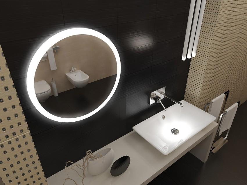 Подсветка в ванной: организация системы освещения и советы по подбору светильников под дизайн ванной (125 фото)