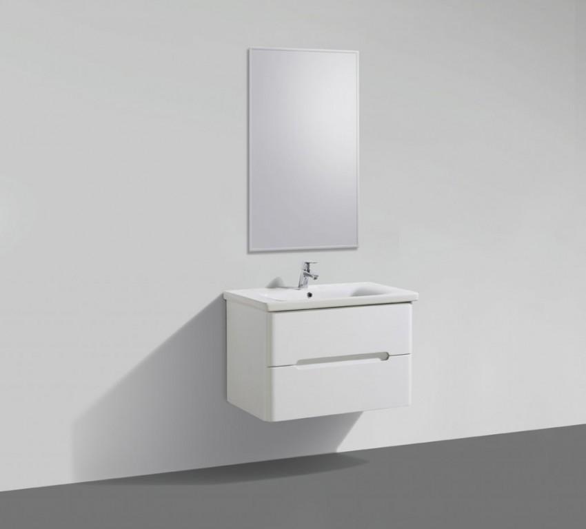 Подвесная мебель для ванной - советы и рекомендации как подобрать под интерьер современные комплекты (145 фото и видео)