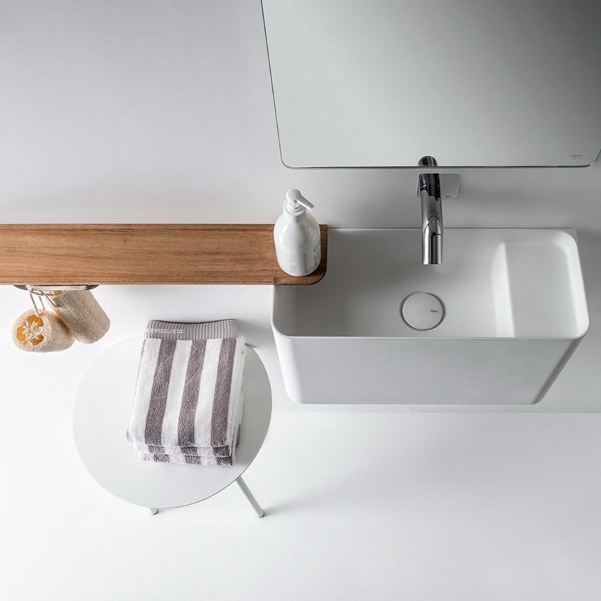 Подвесная раковина: выбор высоты и пошаговая инструкция установки. Рекомендации по выбору материала, цвета и формы раковины (115 фото)
