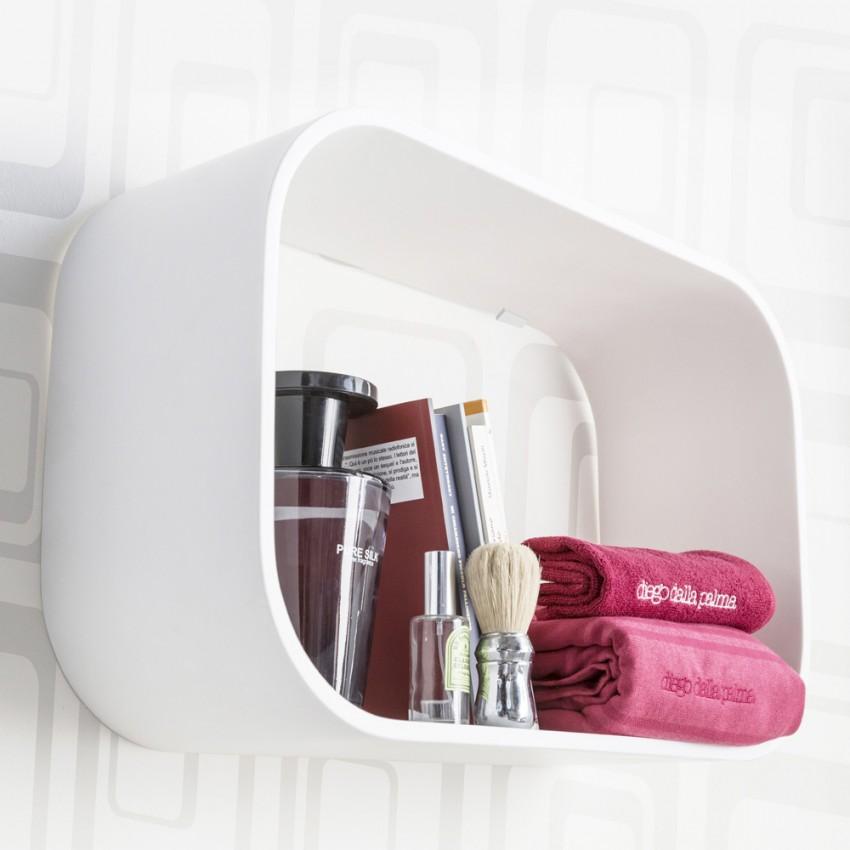 Полки для ванной комнаты - советы по выбору, лучшие дизайнерские решения и оптимальные материалы для полок (130 фото и видео)