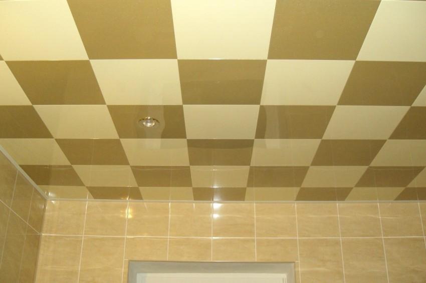 Потолок в ванной - выбор конструкции, особенности подбора материалов и дизайна. Лучшие новинки дизайна и оформления 2018 года
