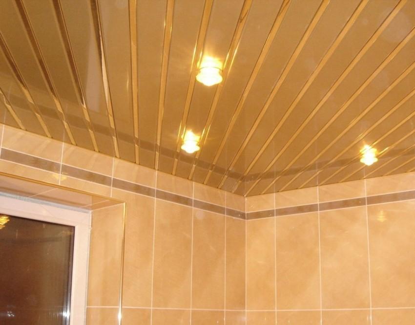 Потолок в ванной своими руками - советы по выбору стиля и дизайна. Способы монтажа и варианты отделки потолка