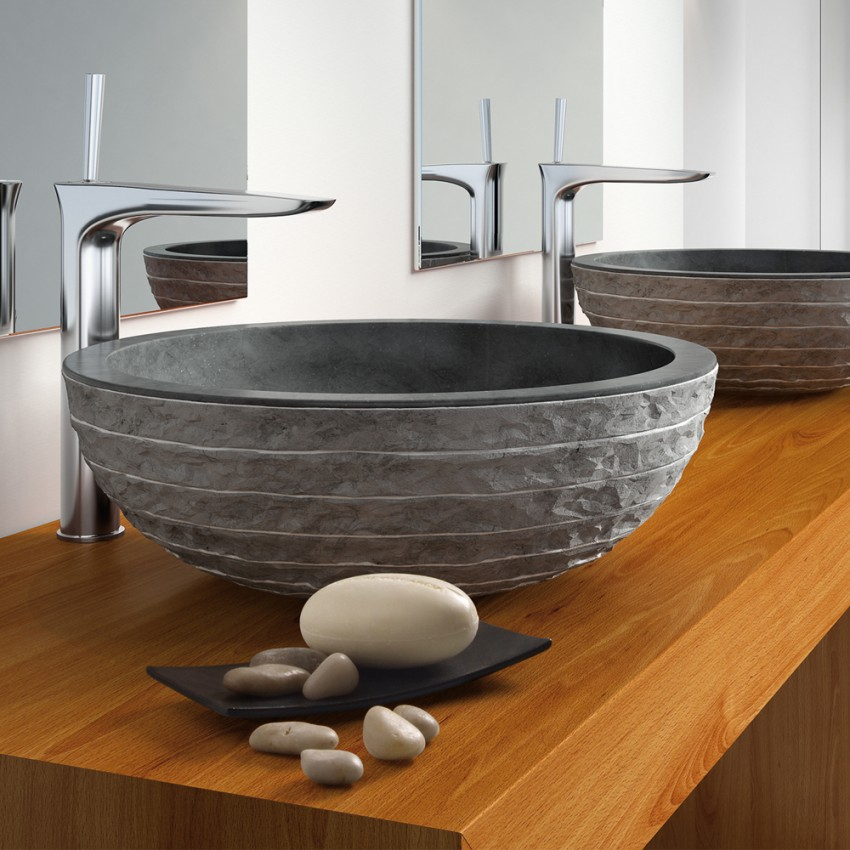 Раковина из камня - современный дизайн и варианты изготовления из искусственного и натурального камня (90 фото)