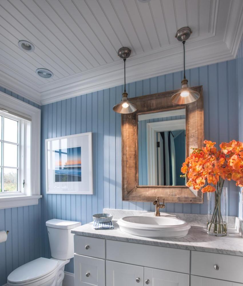Реечный потолок в ванной комнате Преимущества и правила монтажа