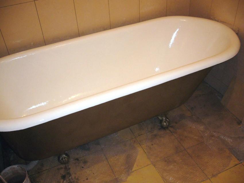 Реставрация ванной - способы обновления и пошаговая инструкция полноценного восстановления ванны (95 фото)