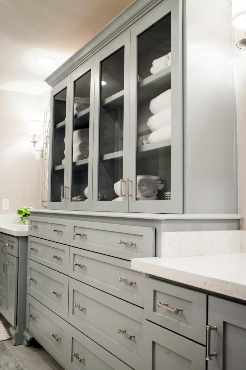 Шкаф-пенал для ванной: рекомендации по выбору стильных моделей различной категории защищенности (95 фото)