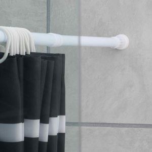 Штанга для ванной — советы по правильному выбору, установке и регулировке современных штанг (100 фото)