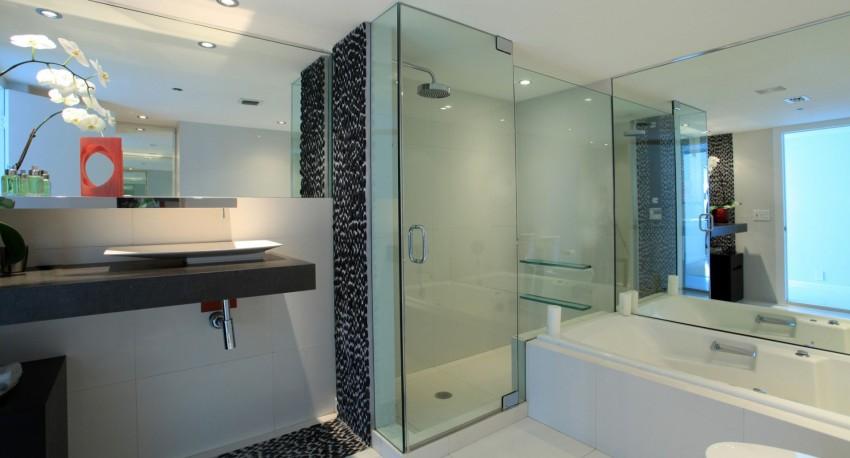 Шторки из стекла в ванную виды и рекомендации как установить