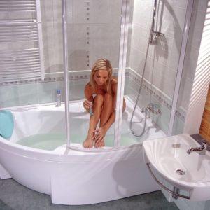 Стеклянная ванная — 90 фото, преимущества, недостатки, обзор современных моделей и интересные варианты дизайна
