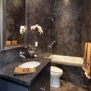Темная ванная — стильные и элегантные примеры оформления. Оригинальные проекты, преимущества, недостатки и современные идеи (115 фото)