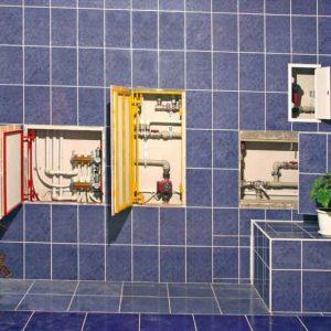 Трубы в ванной — 140 фото примеров грамотной разводки, монтажа и маскировки различных типов трубопроводов