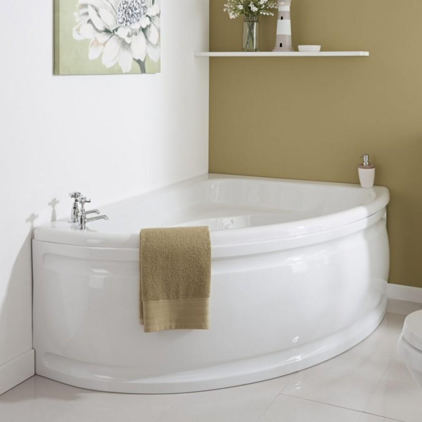 Угловая акриловая ванна - самые популярные решения и лучшие идеи размещения (120 фото и видео)