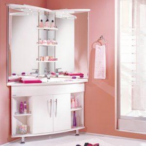 Угловая мебель для ванной — обзор лучших моделей и советы как подобрать угловые варианты мебели правильно (110 фото)