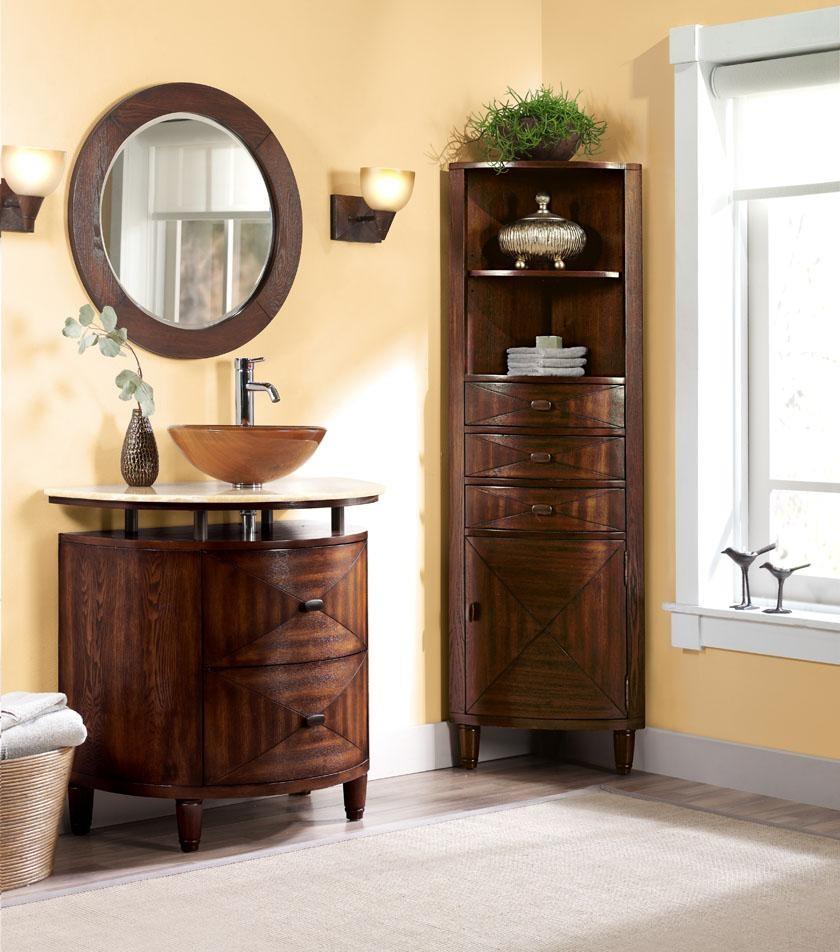 Угловая мебель для ванной - обзор лучших моделей и советы как подобрать угловые варианты мебели правильно (110 фото)