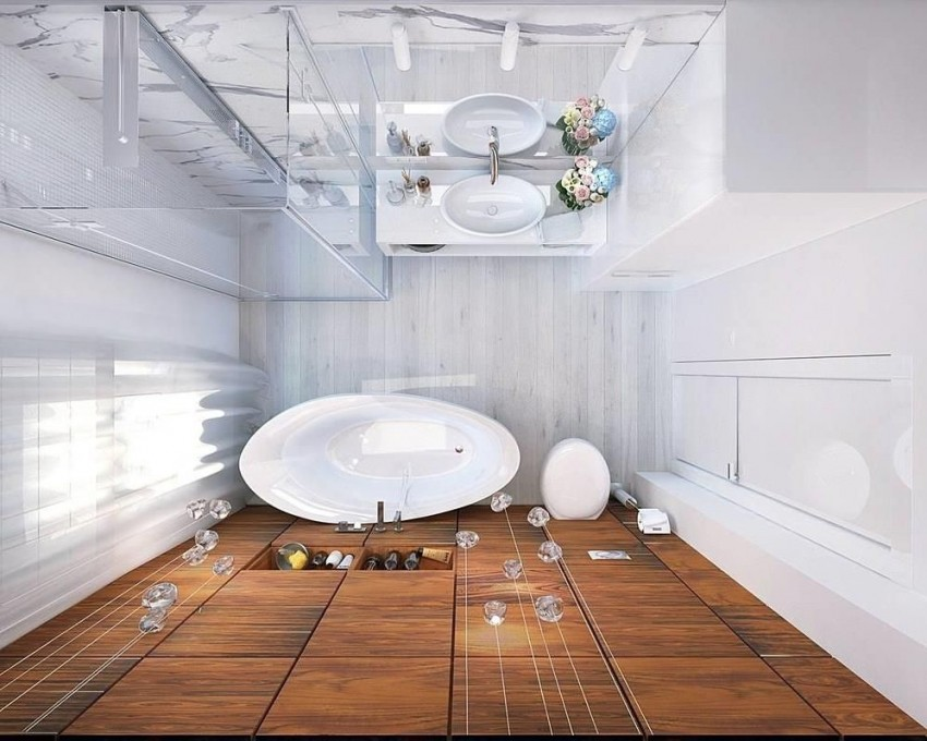 Ванная 4 кв. м. - 135 фото модных тенденций и рекомендации по размещению мебели, раковины, душа и ванной