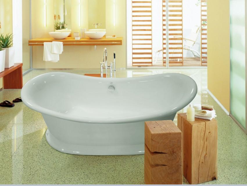 Ванная из искусственного камня - советы по выбору, пошаговое описание установки и подбор оптимальных аксессуаров