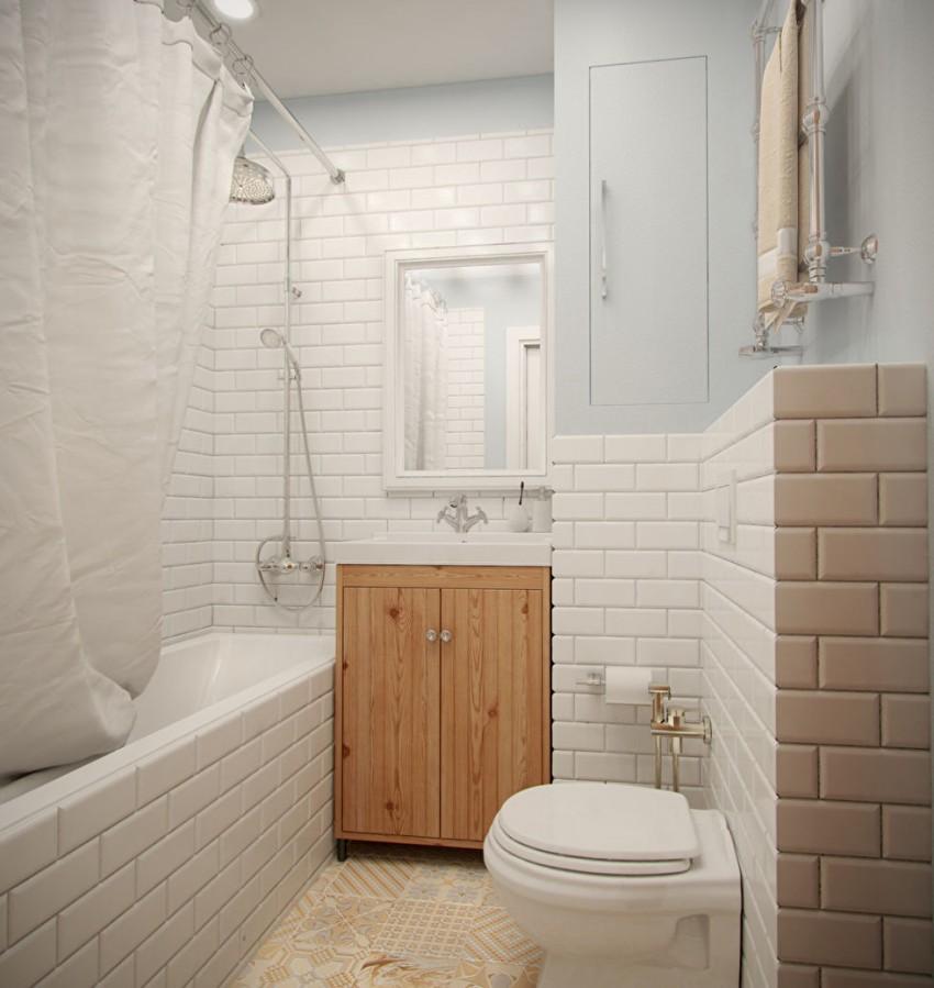 Ванная в хрущевке - 120 фото лучших идей дизайна, секреты размещения мебели и нюансы оформления ванной