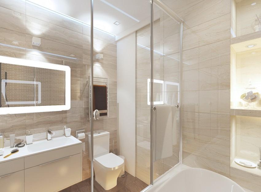 Ванная в современном стиле: лучшие идеи и рекомендации оформления современного дизайна. 155 фото и советы как реализовать своими руками