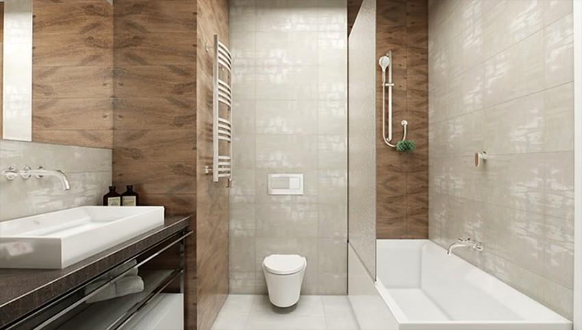 Ванная в стиле Хай-Тек: 170 фото вариантов дизайна, секреты оформления, украшения и проблемы стилизации