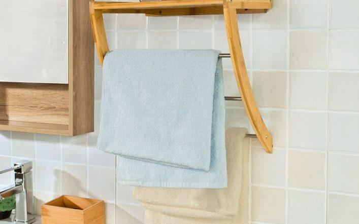 Вешалка в ванную — оригинальные варианты, лучшие конструкции и советы по выбору и размещению